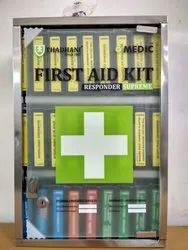 Wall Mount SS First Aid Box