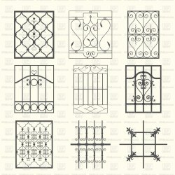 Compleate Iron Window Grill