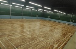 Teak Wood Badminton Sports Flooring