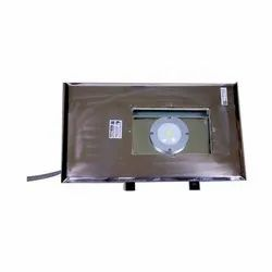 LED Aluminium Flameproof Fitting For Cleanroom, Wellglaas, Floodlight Etc, Mounting Type: Clamp Mounting, 15w To 45w