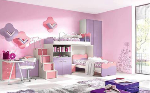Kids Bed, Children Bed, Girls Bed, Toddlers Bed, Kids Bedroom Furniture, Baby Bed In Near D-Mart, Kharghar, Navi Mumbai , Glomax Interior & Modular Kitchen | ID: 16475226112