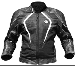 Black Full Sleeve Rynox Tornado Pro Jacket Level 2