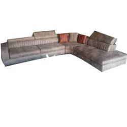 Modern Leather L Shape Sofa Set, For Home,Hotel