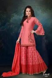 Printed Ladies Indian Suits