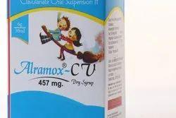 ALRAMOX CV 457 mg Dry Syrup