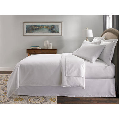 Plain White Bed Sheet Rs 211 Piece Iswarya Sign Tex Id 14764139591