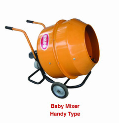 Mini Concrete Mixer Machine-Handy Model