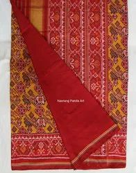 Multicolor Rajkot Silk Patola Saree, For Gives Rich Traditional Getup., Dry clean