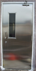 Fire Safety Polished Fire Rated Steel Door