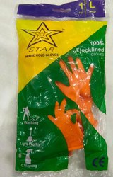 Covid-19 Protection Industrial Rubber Gloves