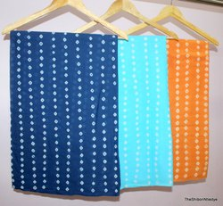 Handmade Tie Dye Shibori Print Fabric