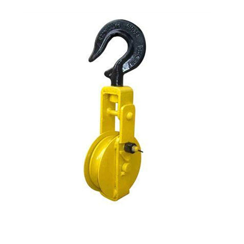 Transmission Line Single Pulley Block