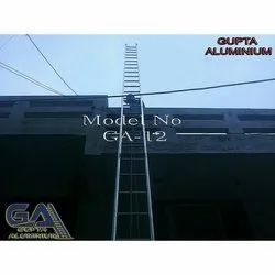 Aluminum Wall Supporting Extension Ladder