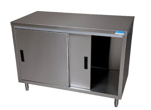 Metal And Stainless Steel Rectangular Enclosed Base Work Table Rs - Enclosed stainless steel work table