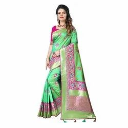 1515 Party Wear Jacquard Silk Saree