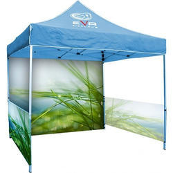 Yellow Display Tent for Marketing and Promotion Stall