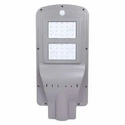 10 Watt All In One Street Light With Remote