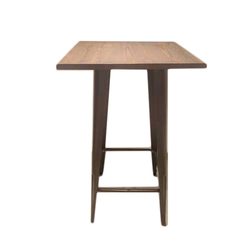Brown Wooden Stool, Size: 600 x 600 x 1050 inch