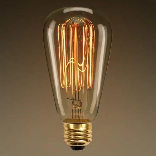Vintage Edison Filament Bulb 40w E27 St64
