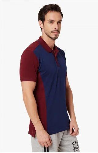 3d00033eb S L XXL KAPPA Half Sleeves Polo Neck T-Shirt