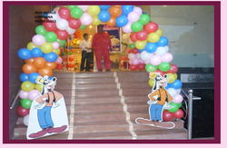 Entry Gate Balloons Decorations