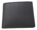 Male Leather Black Wallet, Size: M