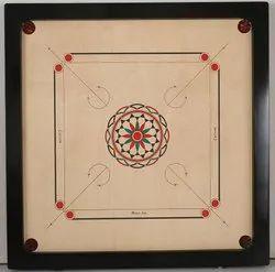 Wood Wooden Carrom Board, Size: Full