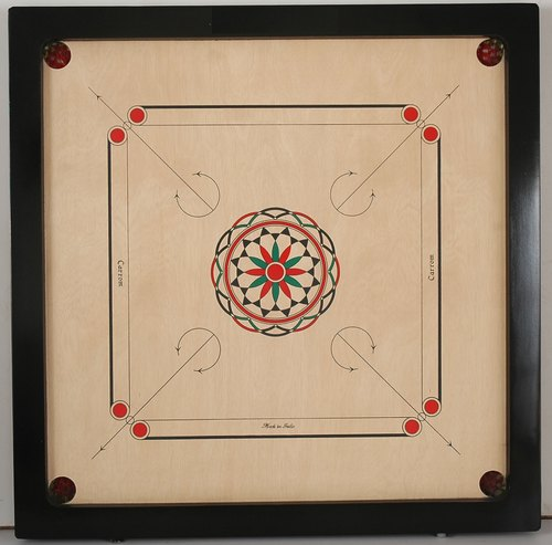 Wood Wooden Carrom Board, Size: Full