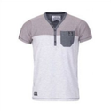 White And Grey T-Shirt