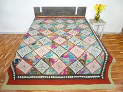 Barmeri Embroidery Bedsheet