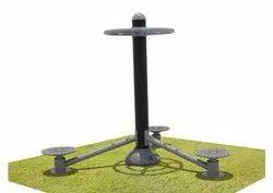 Mild Steel Outdoor Gym Triple Twister