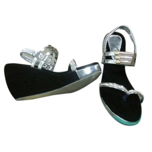 5b2cd993d271 Synthetic Form And Plastic High Heel Ladies Sandal
