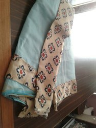 Cotton Saree, 6.3 M (with Blouse Piece)