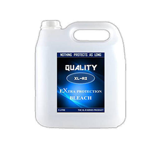 XL-R Extra Protection Bleach, 5 Liter And 1 Liter, Packaging Type: Plastic Cane