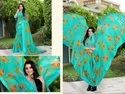 casual wear linen saree