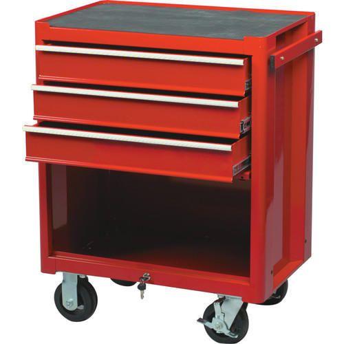 RED 3-DRAWER PROFESSIONALROLLER CABINET KEN5945500K Roller Cabinets - 3 Drawer