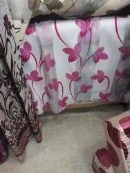 Printed Silk Curtain