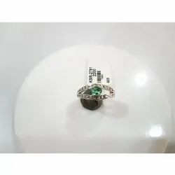 KSR-2461 Green Emerald Ring