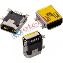 Mini USB AB Female Connector