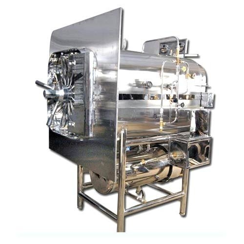 For Laboratory Stainless Steel High-Pressure Steam Sterilizer, 180 L, Rs  265000 /piece   ID: 10206361691