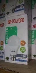 Polycab 15w LED Bulb