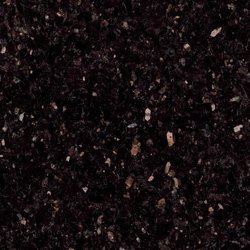 Pan India Black Galaxy Granite Slab, Thickness: 15-20 mm