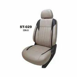 Leather Seattek Plain Car Seat Cover