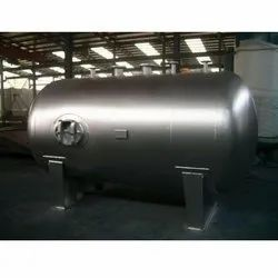 Horizontal Stainless Steel Tanks