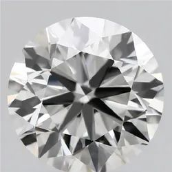 1.63ct Lab Grown Diamond CVD H VVS2 Round Brilliant Cut IGI Crtified Type2A