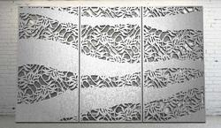 Daisey Botanical Laser Cut Metal Screens and Sheet Boards