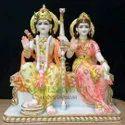 Designer Marble Ram Darbar Statue