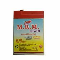 6. V. 5Ah Electric Batteries