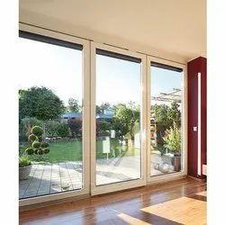 Toughened Glass Large UPVC Sliding Glass Doors, for Home , Hotel, Exterior