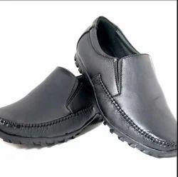Black Genieben Men Formal Shoes GFW5002BK 40 44